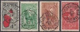 Madagascar 1908-1939 - Ambulant De Tamatave à Tananarive. Oblitérations Des Brigades 1 à 4. - Oblitérés