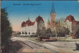 Romania - Timisoara, Liceul Rom.-Cat. Gerhardinum,Temesvár Piarista Fögymnasium / Piaristengymnasium, 1919. - Roumanie