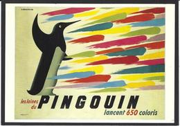 CPM Publicité Publicitaire Réclame Non Circulé Editions FORNEY E202293 Laine Pingouin - Publicité