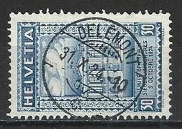 SBK 168 Stempel Delémont - Marcophilie
