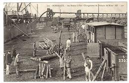 BORDEAUX (33) - Au Bassin à Flot - Chargement De Poteaux De Mine - Ed. BR - 500 - Bordeaux