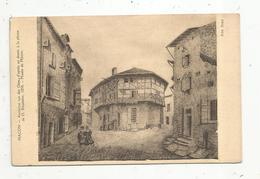 Cp, 71 , MACON , Ancienne Rue Des Gites , D'aprés Un Dessin à La Plume De O. Rousselot ,1850,vierge - Macon
