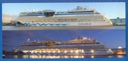 Schiffe; Aida; Big, Grandformat 210x95mm - Piroscafi