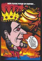 CPM Sucre Satirique Caricature Algérie Jacques LEBAUDY Empereur Du Sahara Sugar Non Circulé Grenouille - Satirical