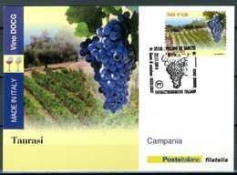 ITALIA / ITALY 2014 - Vino DOCG - Taurasi - Campania - Maximum Card Come Da Scansione. - Vini E Alcolici