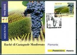 ITALIA / ITALY 2014 - Vino DOCG - Ruche' Di Castagnole Monferrato - Piemonte - Maximum Card Come Da Scansione. - Vini E Alcolici