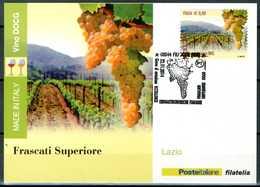 ITALIA / ITALY 2014 - Vino DOCG - Frascati Superiore - Lazio - Maximum Card Come Da Scansione. - Vini E Alcolici