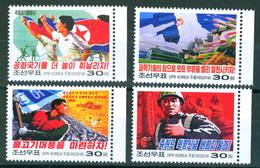 North Korea 2016 Propaganda 4v MNH - Korea, North
