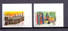 2249/2250 Folklore ONGETAND POSTFRIS**  1987 - Belgique