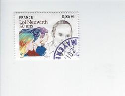 Cinquantenaire De La Loi Neuwirth 5121 Oblitéré 2017 - France