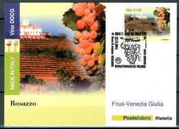 ITALIA / ITALY 2014 - Vino DOCG - Rosazzo - Friuli-Venezia Giulia - Maximum Card Come Da Scansione. - Vini E Alcolici