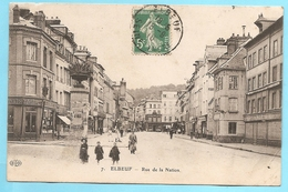 76  Seine Maritime :  Elbeuf  Rue De La Nation     Réf 7575 - Elbeuf