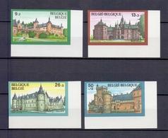 2265/2268 KASTELEN ONGETAND POSTFRIS** 1987 - Belgium