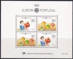Portugal  1989 Yvertn° Bloc 65 *** MNH Cote 15,00 Euro Europa Cept - Blocs-feuillets