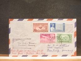 83/948A  LETTRE   USA  1958 1° FLIGHT - Luftpost