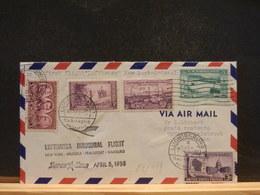 83/949A  LETTRE   USA  1958 1° FLIGHT - Luftpost