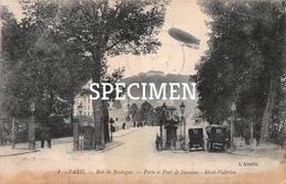 1 Paris - Bois De Boulogne - Porte Et Pont De Suresnes - Mont-Valérien - Zeppelin - Dirigeables