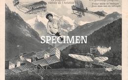 La Jungfrau Victime De L'Aviation - ....-1914: Voorlopers