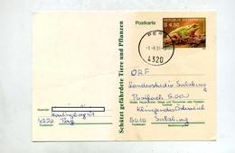 Carte Postale 4.5 Grenouille Cachet Perg - Entiers Postaux