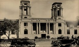 SUDAFRICA // SOUTH AFRICA. Bloemfontein, MAIN ENTRANCE. TOWN HALL. - REAL PHOTO - Sudáfrica