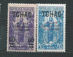 TCHAD  LOT  N°  32+42  **  TB  2 - Tschad (1922-1936)