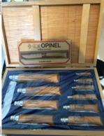Coffret De 10 Couteaux OPINEL De 2 A 12 - Autres Collections
