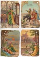 POULAIN Série Complète De 12 Chromos Gauffrées : Le Faux Prince (format 9x13 ) - Poulain