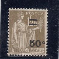 France - 1934 - N° YT 298** - Type Paix Surchargé - 1932-39 Paz