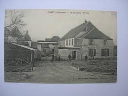 CPA Roizy. Ardennes. Le Chateau Et La Ferme. Animation - France