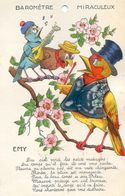Fantaisie EMY- Carte à Systeme - Barometre Miraculeux - Oiseaux - Gekleidete Tiere