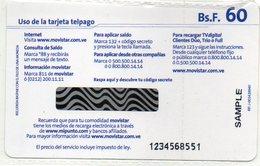 VENEZUELA - TELEFONICA MOVISTAR - SAMPLE CARD - MINT IN BLISTER - Venezuela