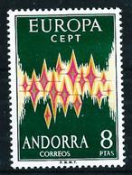 Andorra Española Nº 72 Nuevo Cat.115€ - Andorre Espagnol