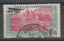 LOT 148 MONACO PA N° 1 Oblitéré - Poste Aérienne