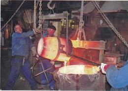 ALBI - Fonderie GILLET à Albi,  Fondée En 1867 - Remplissage D'une Poche De Cupro-aluminium - Albi