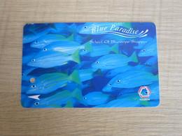 Translink Multi Transport Ticket, Adult Farecard,Blue Paradise, Fish - Singapore