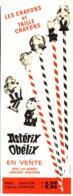 """PUB CRAYONS Et TAILLE CRAYONS  """" ASTERIX Et OBELIX  """"   1967 - Astérix"""