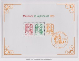 France Bloc N° 133 Marianne Et La Jeunesse - Mint/Hinged