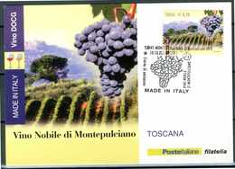 ITALIA / ITALY 2013 - Vino DOCG - Vino Nobile Di Montepulciano - Toscana - Maximum Card Come Da Scansione. - Vini E Alcolici