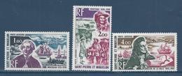 Saint Pierre Et Miquelon - Poste Aérienne - YT PA N° 54 à 56 - Neuf Sans Charnière - 1973 - Airmail