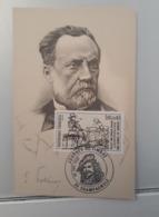 Carte Maximum Journée Du Timbre Champagnole Pasteur. 1983. - Louis Pasteur