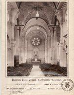 CERTIFICAT DE COMMUNION SOLENNELLE... PAROISSE ST.URBAIN .... LA GARENNE-COLOMBES.... - Communion