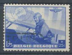 [60303]TB//O/Used-c:3e-N° 469, 1,75F+25c Bleu, Léopold III Aviateur, Oblitération Télégraphique - Belgique