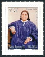 POLYNESIE 2013 - Yv. 1016 **   Faciale= 0,63 EUR - Reine Pomare IV. Autoadhésif  ..Réf.POL24943 - Polynésie Française