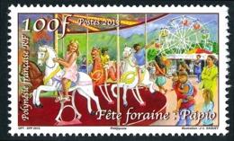 POLYNESIE 2013 - Yv. 1033 **   Faciale= 0,84 EUR - Heiva. Fête Foraine. Maneige De Chevaux De Bois  ..Réf.POL24951 - Neufs