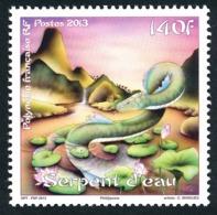 POLYNESIE 2013 - Yv. 1015 **   Faciale= 1,18 EUR - Année Du Serpent  ..Réf.POL24942 - Neufs