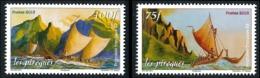 POLYNESIE 2013 - Yv. 1042 Et 1043 **   Faciale= 1,47 EUR - Transport. Pirogues De La Mer (2 Val.)  ..Réf.POL24956 - Polynésie Française