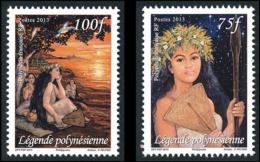 POLYNESIE 2013 - Yv. 1017 Et 1018 **  - Journée De La Femme (2 Val.)  ..Réf.POL24944 - Polynésie Française