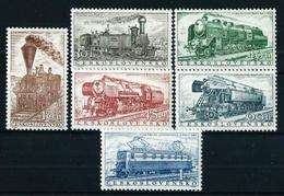 Checoslovaquia Nº 875/80 Nuevo*/** Cat.45€ - Unused Stamps