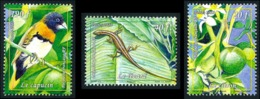 POLYNESIE 2013 - Yv. 1019 1020 Et 1021 **  - Citron Lézard Capucin (3 Val.)  ..Réf.POL24945 - Polynésie Française
