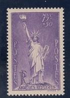 France - 1936 - N° YT 309** - Statue De La Liberté - Nuovi